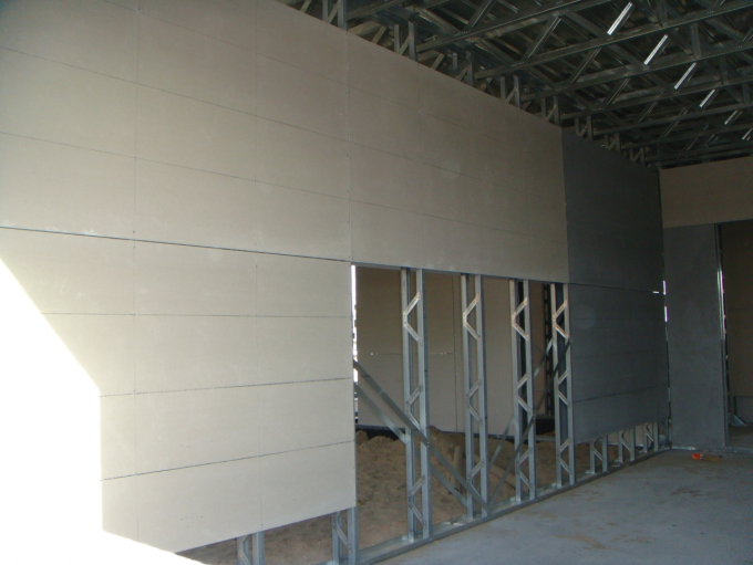 Prefabricated Fiber Cement Wall Board Building Material 100% Free Asbestos