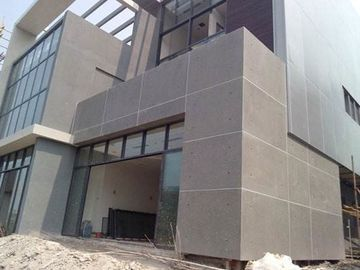 Exterior Wall Decorative Compressed Fibre Cement Cladding Board 100% Free Asbestos