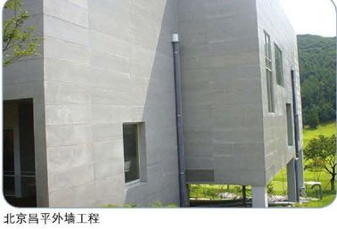 Fire Resistant Compressed Fibre Cement Board , External Cement Sheet Wall Panels