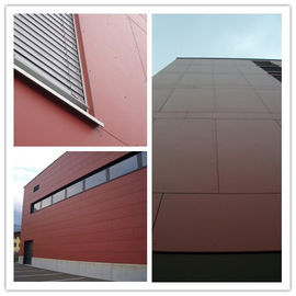 Fireproof Through Colored Fiber Cement Board Windproof Thermal Insulation