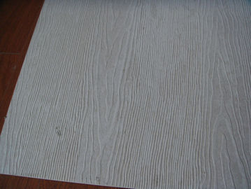 Waterproof Wood Grain Fiber Cement Board Sheet Fire Proof 100% Non Asbestos
