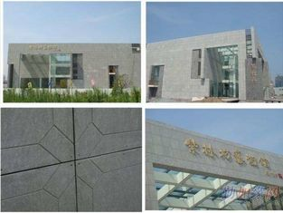 Resist UV 8mm Exterior Fiber Cement Board , Fibre Cement External Wall Cladding