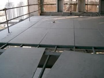 Water Resistant Fiber Cement Floor Board , Compressed Cement Flooring Reinforced