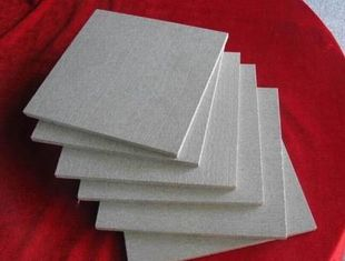Fireproof Incombustible External Cement Board Cladding , Cement Clapboard Siding