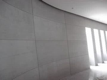 China 6mm Interior Cellulose Fiber Cement Wall Board , Modern Fiber Cement Siding Panels factory
