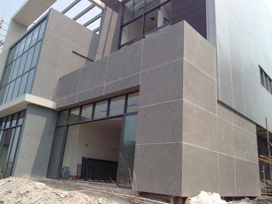 Exterior Wall Decorative Compressed Fibre Cement Cladding Board 100 ...
