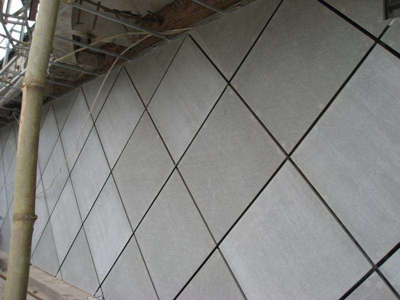 Decorative Exterior Cement Board : Facade decorative compressed fibre cement board exterior