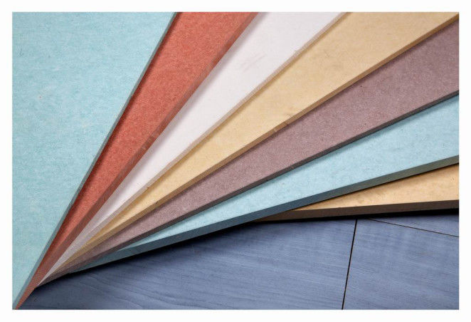 UV Coated Colored Fiber Cement Board Fireproof Waterproof High Strength supplier