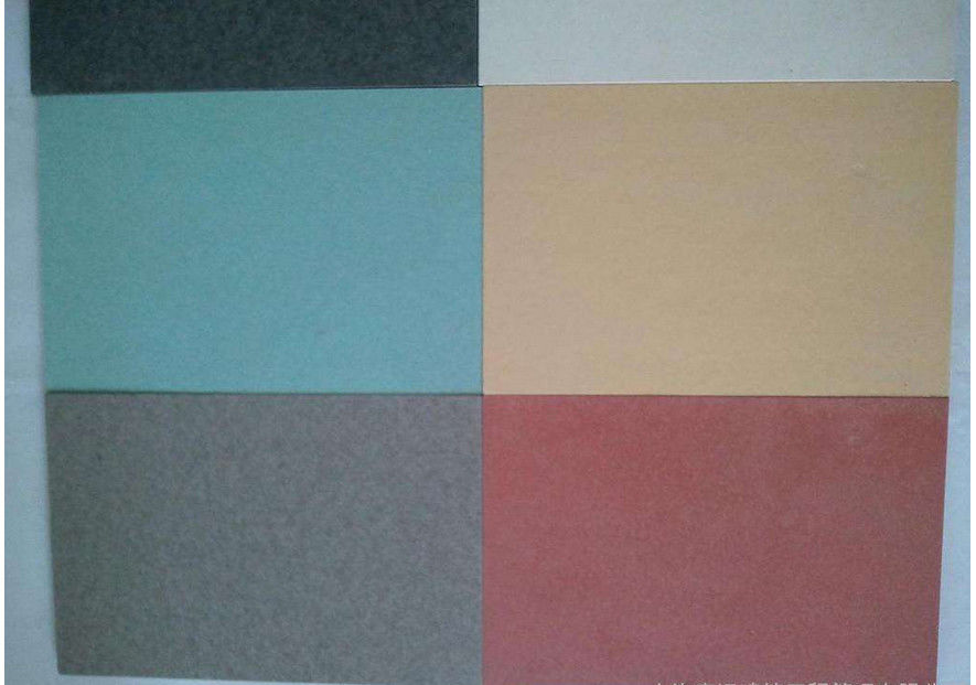 Colored Fiber Cement Cladding Panels , Fireproof External Fibre Cement Sheeting supplier