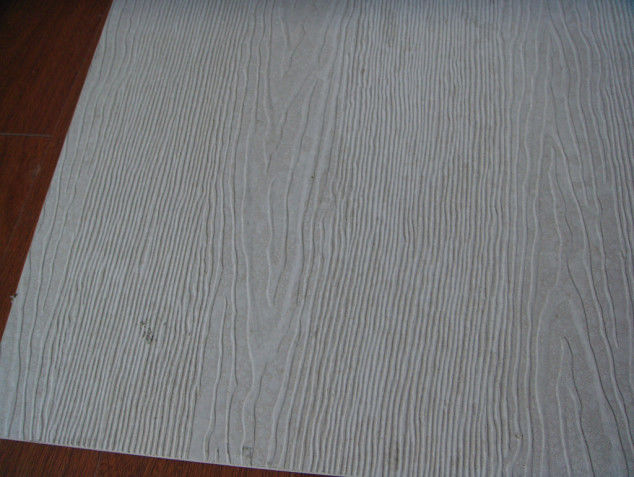 Waterproof Wood Grain Fiber Cement Board Sheet Fire Proof 100% Non Asbestos supplier