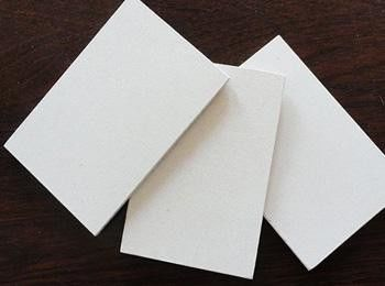 High Density Waterproof Calcium Silicate Board / Sheet For Fireplaces Insulation supplier