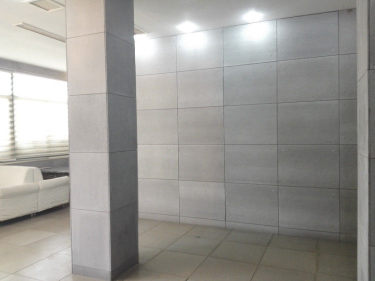 Water Proof  Interior Fiber Cement Board Non - Toxic Non - Radioactive Wall Panel supplier