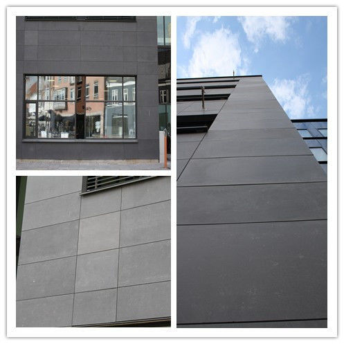 Compressed Exterior Fiber Cement Board For External Wall Decorative UV Coated supplier