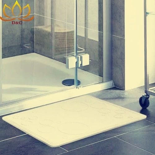 Fast Drying Soil Diatomite Bath Mat Bathroom Mats That Absorb Water Instant Dry supplier