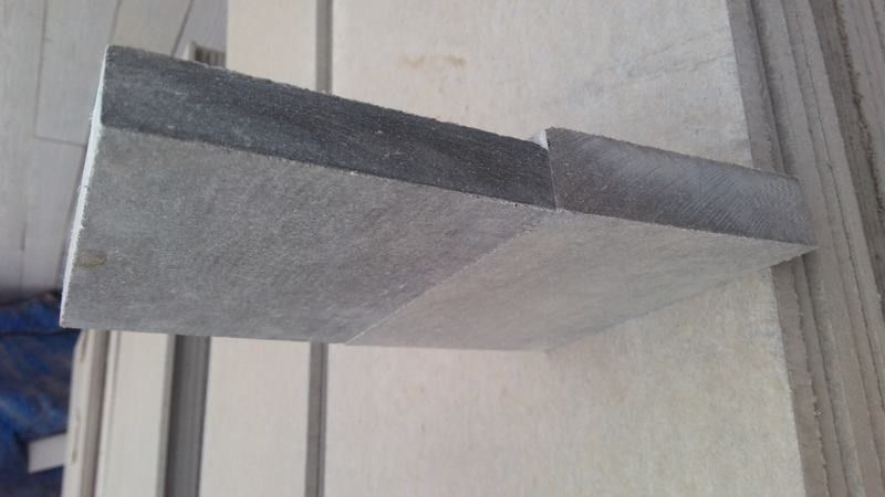 Non Asbestos Fiber Cement Floor Board , 18mm Compressed Fibre Cement Flooring supplier