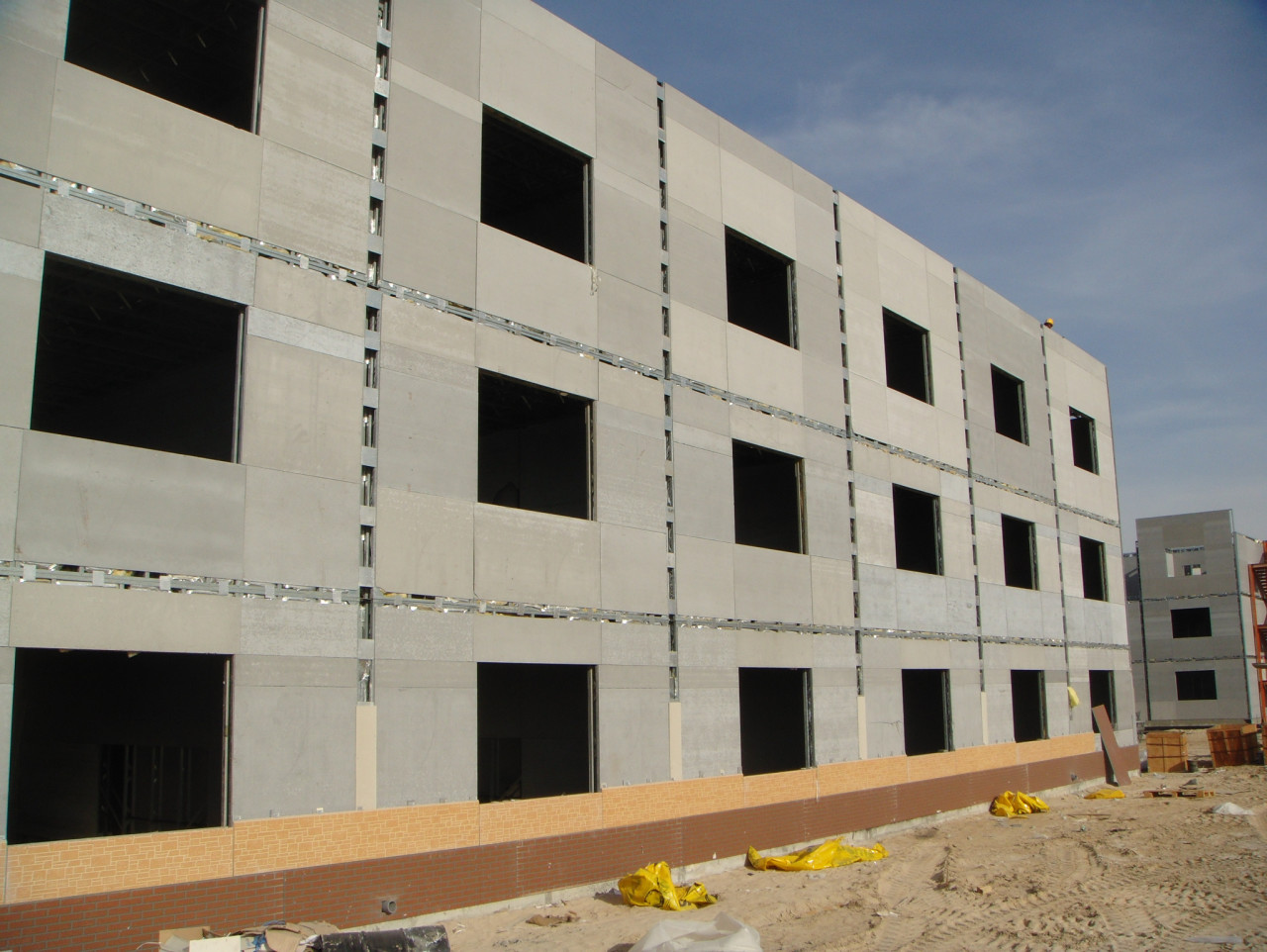 Fireproof Calcium Silicate Board Partition Siding