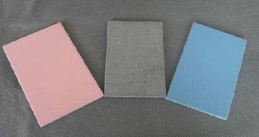 100% Non Asbestos Colored Fiber Cement Board , Cellulose Fiber Cement Sheet
