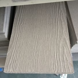 Non Asbestos House Wood Grain Fiber Cement Board for Walls Flooring Panel