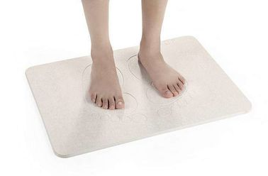 Diatomaceous Earth Non Slip Bath Mat , Bathroom Quick Dry Soil Bath Mat