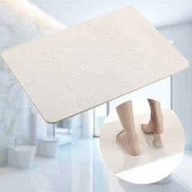 Colorful Diatomaceous Earth Bath Mat Water Absorbent Quick Dry Anti Slip